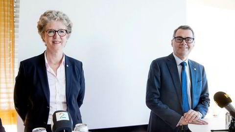Hilde Merete Aasheim blir ny konsernsjef i Hydro, og Svein Richard Brandtzæg går av.