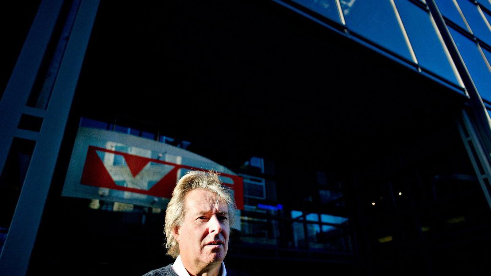 KRITISK. Sjefredaktør og administrerende direktør Torry Pedersen i VG ber om at NRK i større grad begrenses til å drive med lyd og levende bilder. Foto Mikaela Berg