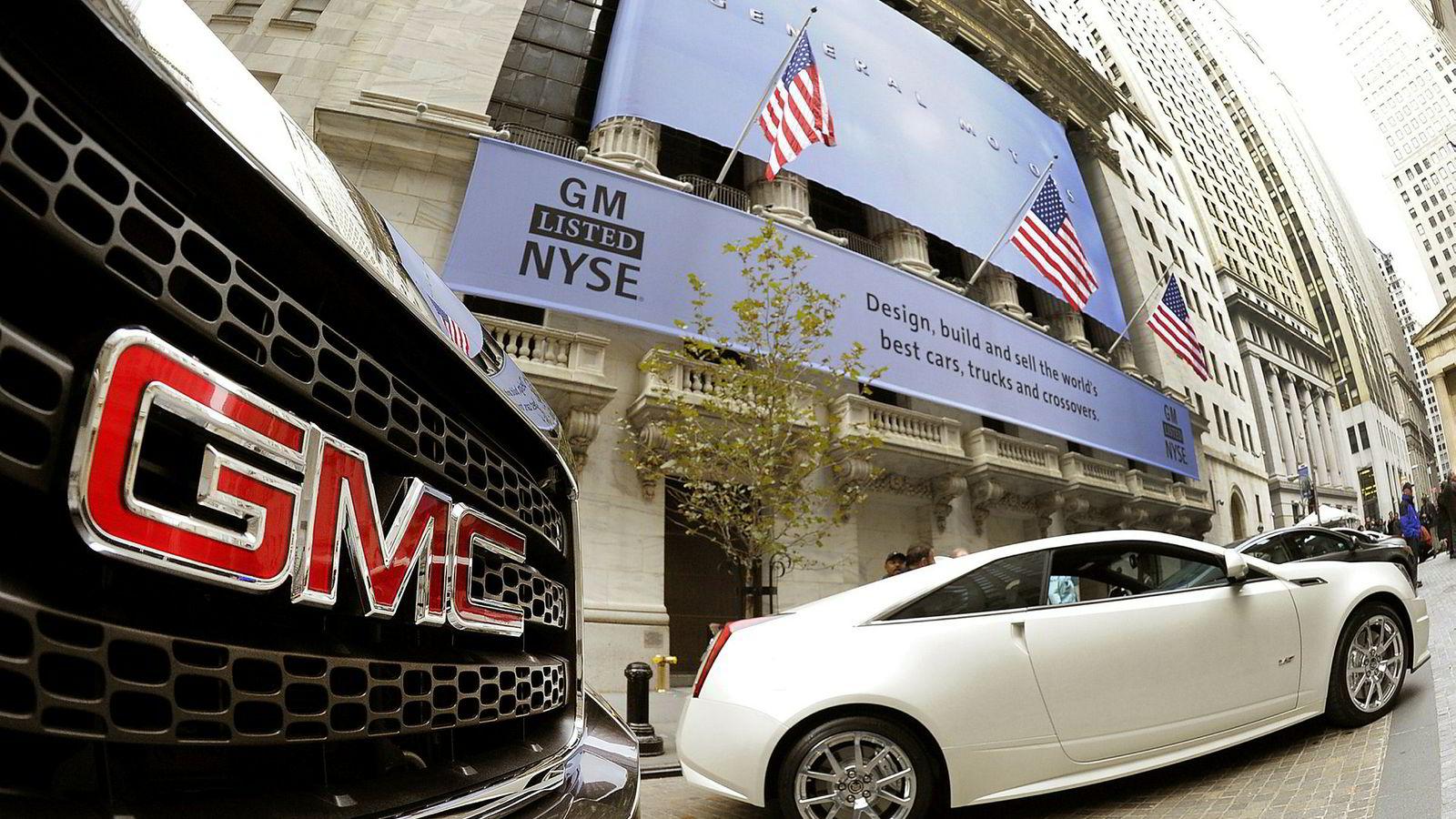 General Motors gjør det bedre enn ventet, men faller på børsen på grunn av grimme utsikter for handelskrig og dyrere metaller.