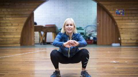 TRENER: Forsker og førsteamanuensis Lene Haakstad ved Norges idrettshøgskole (NIH) har deler treningsoplegget hun selv skal følge i julen. Foto: Skjalg Bøhmer Vold