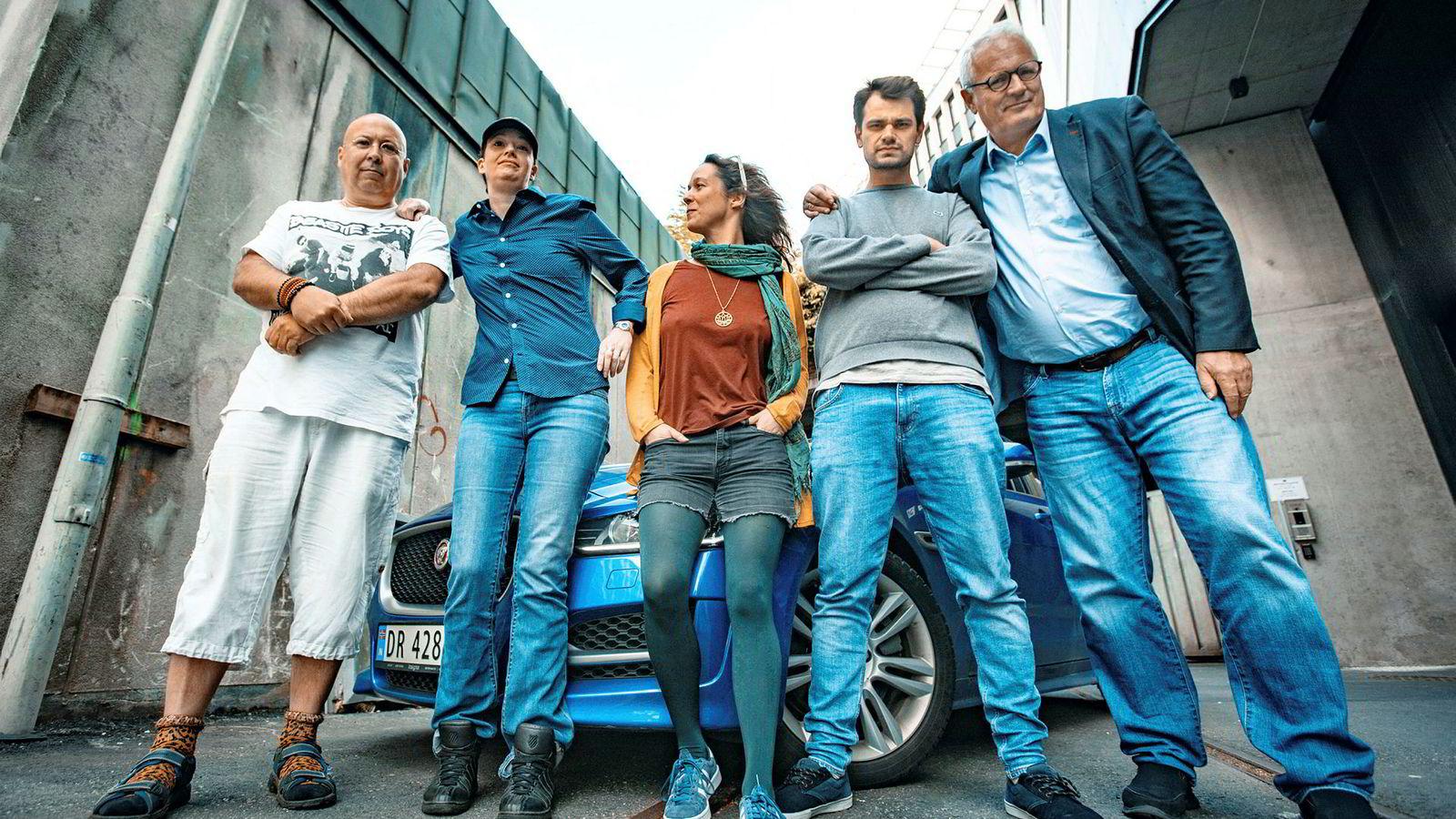 Juryen har bestått av blant andre Magne Fonn Hafskor (f.v.), Johanna «Tante Biotika» Vatne, Maren Anneth Håland,  Selim «Action The Man» Mutic og Thorstein Selvik.