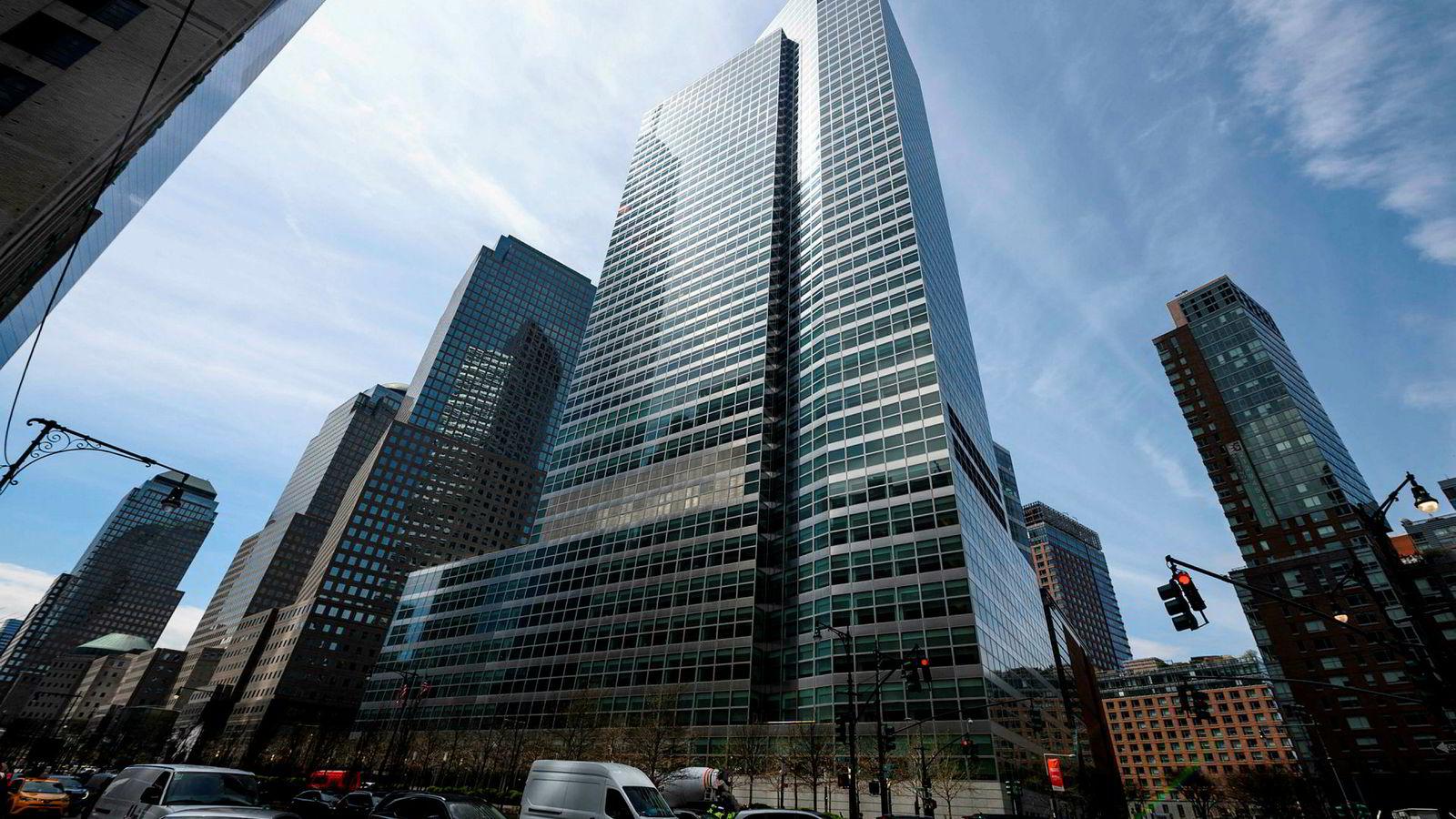 Goldman Sachs' hovedkvarter i New York.