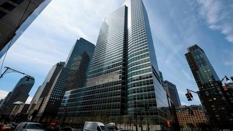 Goldman Sachs' hovedkvarter i New York.