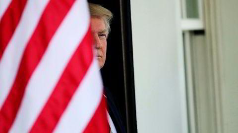 President Donald Trump gjemmer seg bak hemmelighold, men det bekreftes nå at han har full tilgang til pengene fra forretningsimperiet.