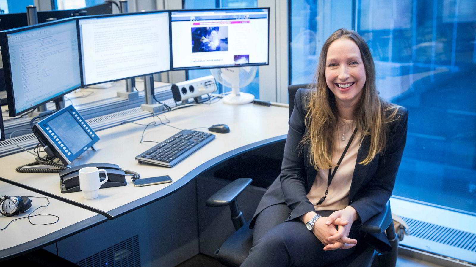 Sjeføkonom Kjersti Haugland i DNB Markets tror på bedre tider i norsk økonomi.