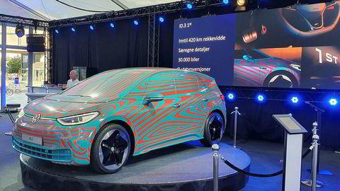 Volkswagen id 3 er i Norge før den offisielt avdukes i Frankfurt i september.