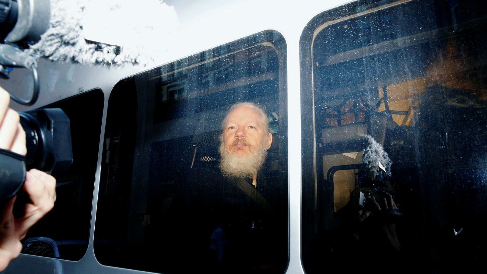 Wikileaks-grunnlegger Julian Assanges ble arrestert forrige uke av britisk politi etter nær syv år i eksil i Equadors ambassade i London.