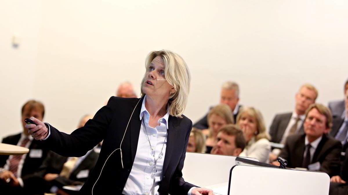 -Grunnen til at ikke kronen går i taket og alt svekker seg, er at kronen går i taket med oljeprisendringene, ikke oljeboomen, professor Hilde C. Bjørnland ved Handelshøyskolen BI .