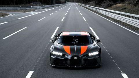 Bugatti Chiron passerte drømmegrensen på 300 miles i timen.