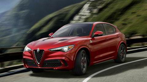 Stelvio er den første suven fra Alfa Romeo.