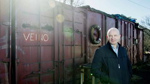 Investor Kjetil Holta er gjennom selskapet Holta Life Sciences as største aksjonær i Gentian Diagnostics. Kurshoppet onsdag morgen gir ham en papirgevinst på nær 11 millioner kroner. Foto: Thomas Haugersveen