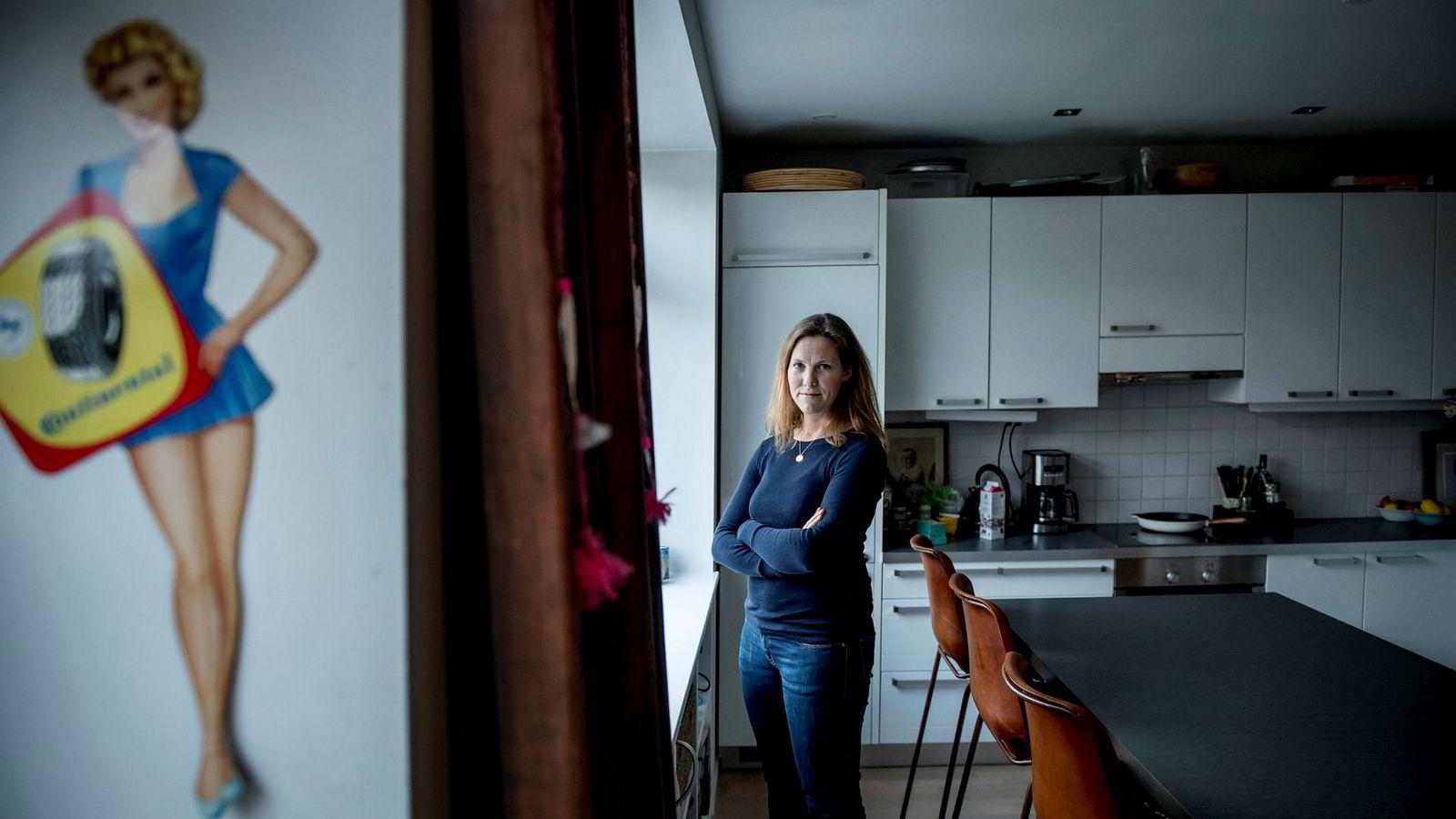 Birgit M. Liodden fortalte i fjor om egne opplevelser med seksuell trakassering i shippingbransjen i forbindelse med Metoo-kampanjen.