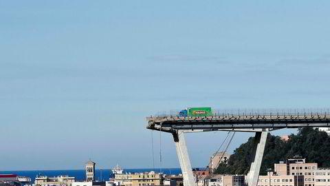 Statens eierandel i selskapet som står bak Genova-broen tilsvarer 2,3 milliarder kroner, opplyser Oljefondet nå.