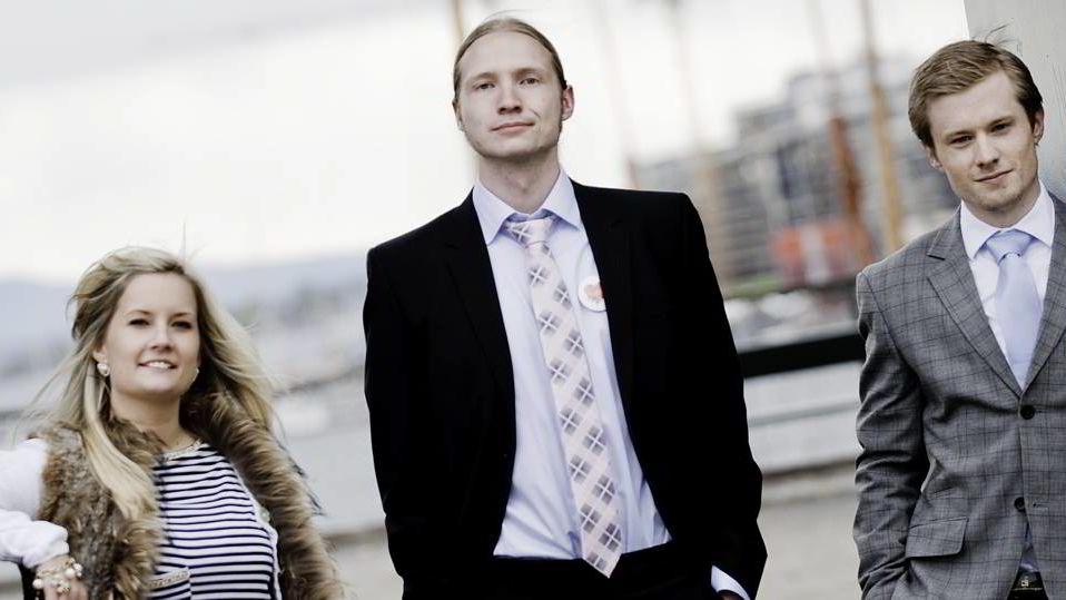 Stina Romslo Kommedal, Øystein Grøndahl og Glenn Ytterdal.