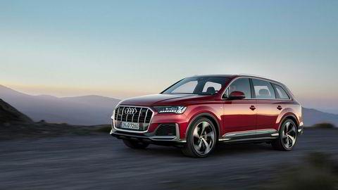 Audi Q7 friskes opp etter at registreringene har falt med 94 prosent i Norge hittil i år.
