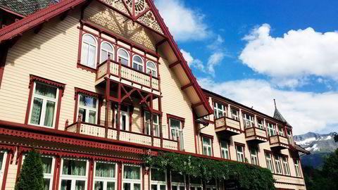 Badet er lite, men opplevelsen stor på herskapelige Hotel Union Øye på Sunnmøre