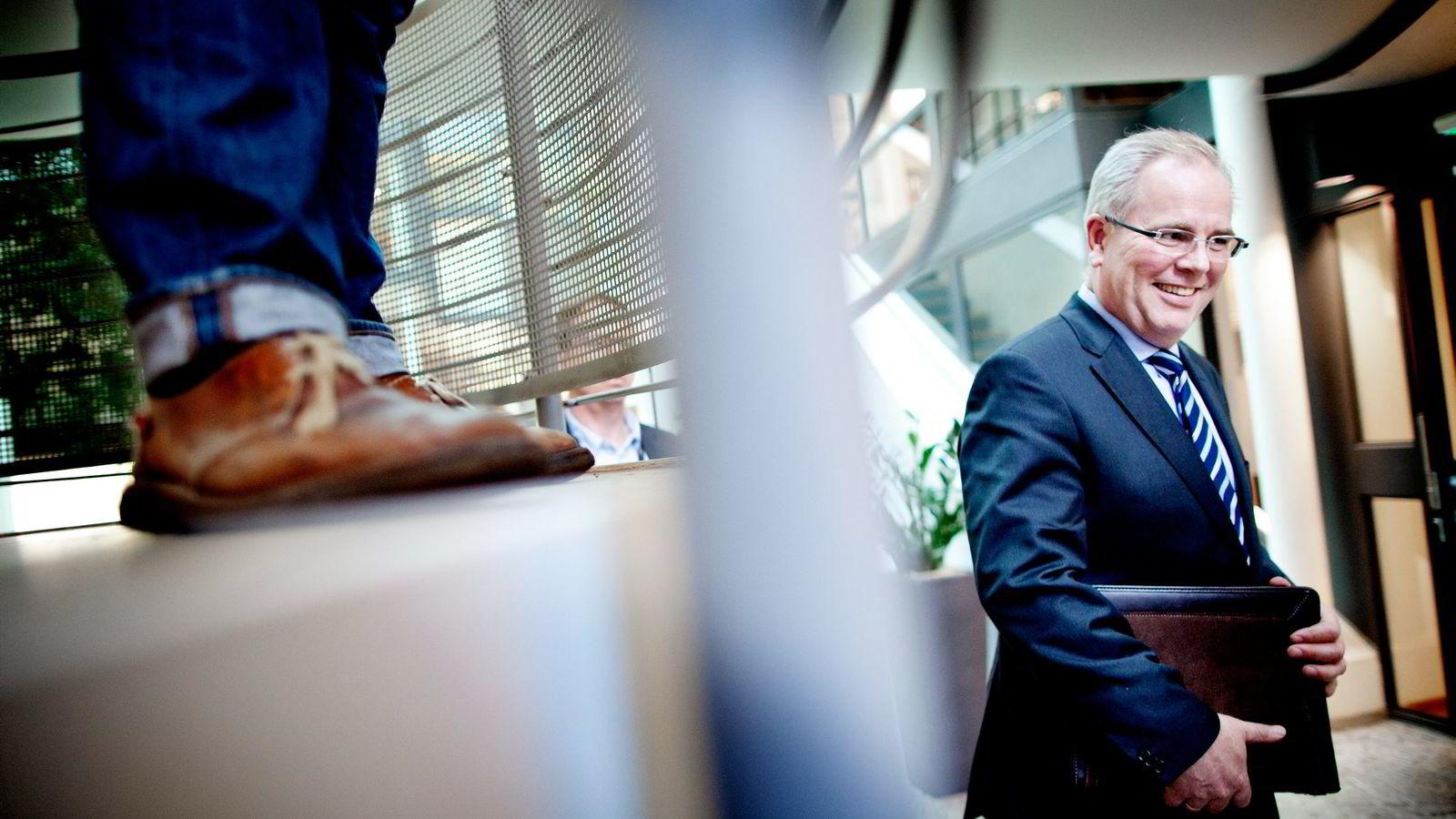 Marine Harvest-styreleder Ole-Eirik Lerøy øker sin eksponering mot oppdrettsbransjen.