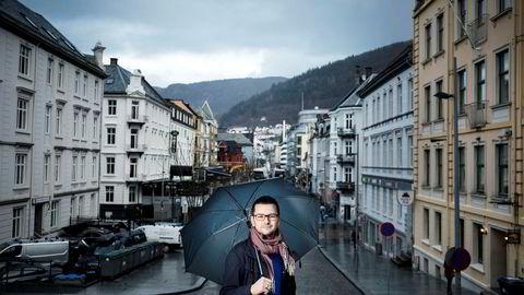 Øyulf Hjertenes, sjefredaktør i Bergens Tidende.