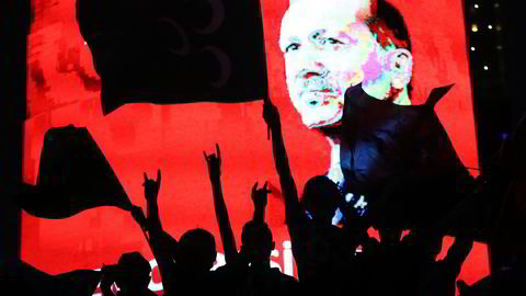 Recep Tayyip Erdogan erklærte onsdag en tre måneders unntakstilstand. Foto: AFP/Adem Altan.