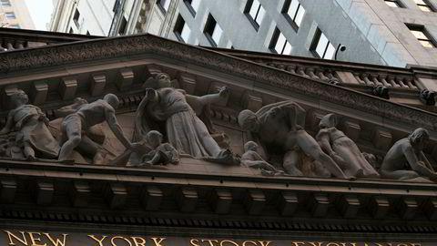 Aksjene finner ikke helt retningen i det amerikanske aksjemarkedet denne uken. (AP Photo/Mary Altaffer, File)