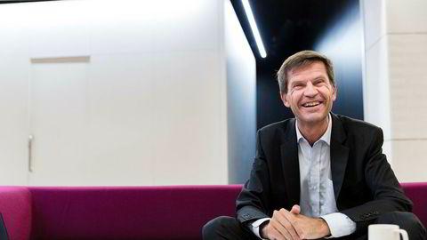 Ottar Ertzeid er toppsjef i meglerhuset DNB Markets.