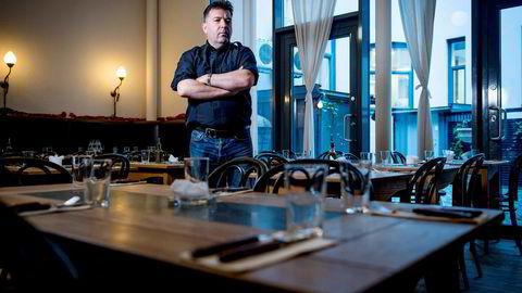 Jan Vardøen var med å etablere The Nighthawk Diner. Her i lokalene til Villa Paradiso på Frogner.