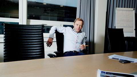 Toppsjef Mons S. Aase i offshorerederiet DOF. Foto: