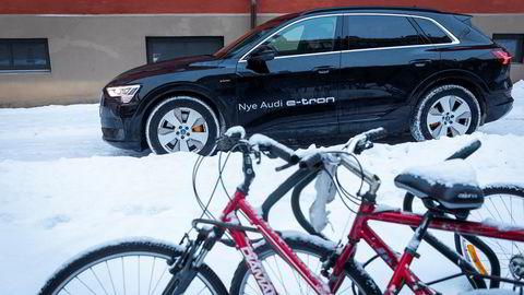 Nå er det registrert 445 Audi E-tron i Norge.