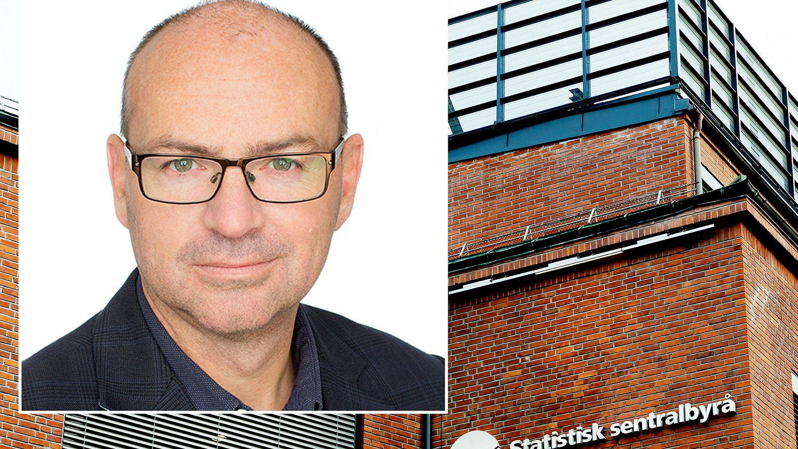 Bjørnar Gundersen er i dag administrasjonsdirektør i Statistisk Sentralbyrå (SSB).