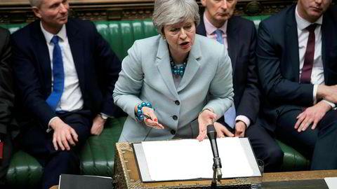 Nok en dårlig dag i parlamentet for statsminister Theresa May mandag.