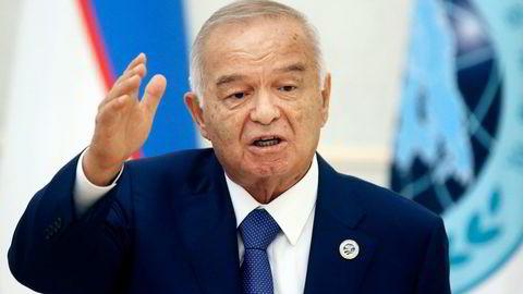 Islam Karimov styrte Usbekistan i 27 år. Nå er han død. Foto: Mikhail Svetlov/