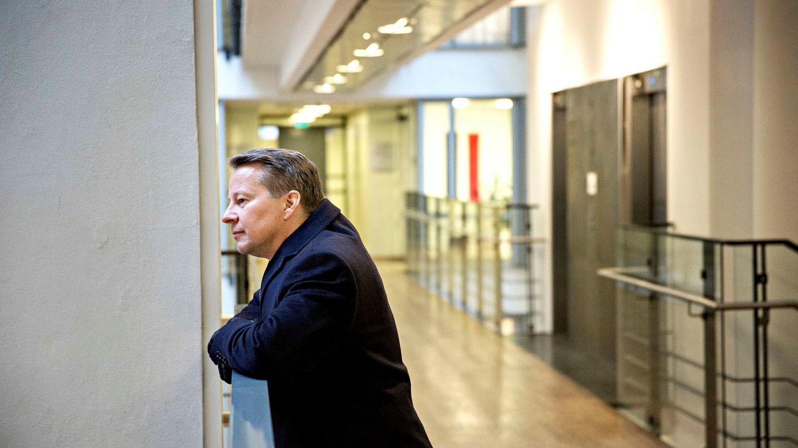 – Det er krevende å drive et lite meglerhus i Norge i dag, sier administrerende direktør Stig A. Rognstad i Norse Securities.