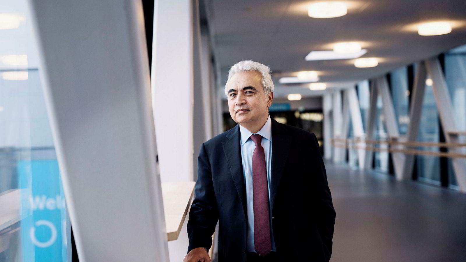 Fatih Birol, toppsjef i Det internasjonale energibyrået.