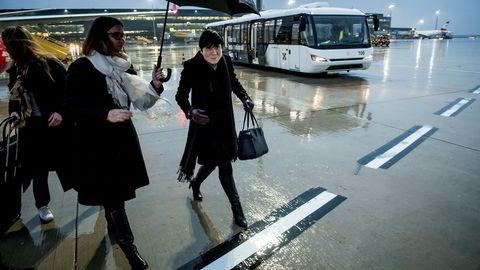 Utenriksminister Ine Eriksen Søreide startet uken i et regntungt Wien, der ambassadør Kjersti Ertresvaag Andersen tok imot henne mandag.