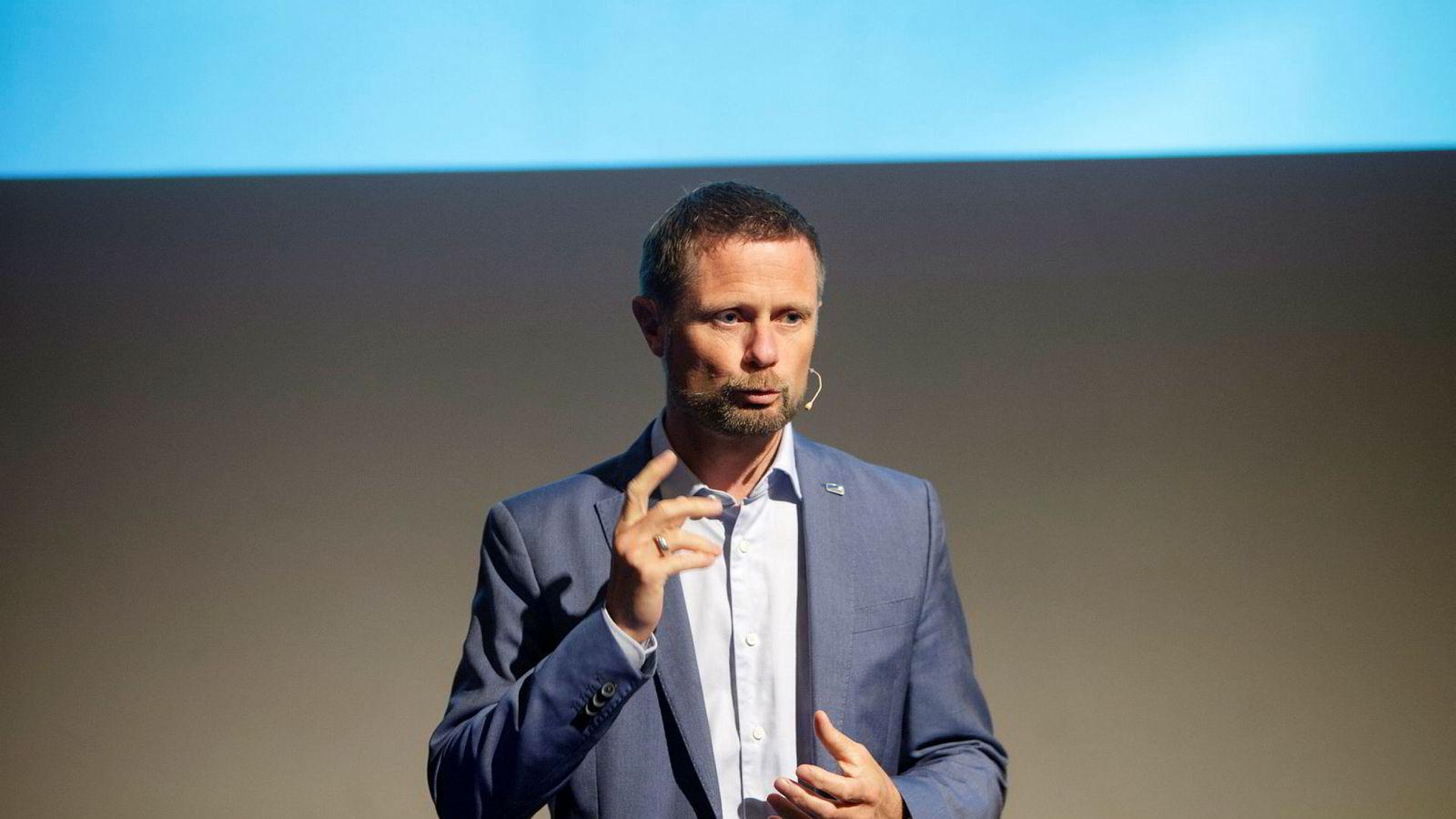 Bent Høie, helseminister.