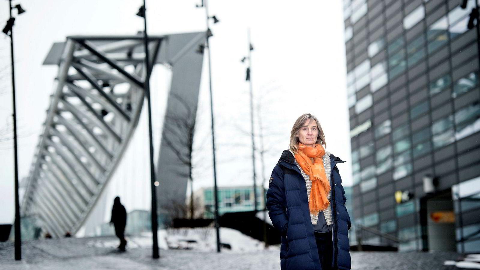 – Dette er en meget alvorlig sak for Hydro, og som investor følger KLP utviklingen nøye, sier Anne Karin Kvam, leder for ansvarlige investeringer i KLP.