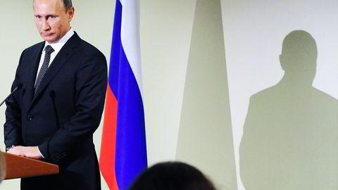 Russlands president Vladimir Putin. Foto: Mikhail Klimentyev/RIA-Novosti, Kremlin Pool Photo via AP/NTB SCANPIX