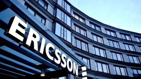 Ericsson tar gigantavsetning i forbindelse med korrupsjonsgranskning. Bildet viser hovedkontoret til Ericsson i Kista.