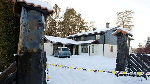 Politiet har etter offentliggjøringen onsdag gjennomført søk og etterforskning i og utenfor familien Hagens bolig på Lørenskog. 