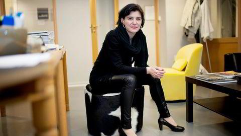 Etter å ha vært generalsekretær i Norsk Presseforbund i tre år, takker Kjersti Løken Stavrum for seg. Foto: Silje Eide