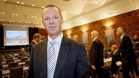 FREMDELES ROLIG. Statssekretær Tore Vamraak i Finansdepartementet frykter ikke boble i boligmarkedet. FOTO: Mikaela Berg