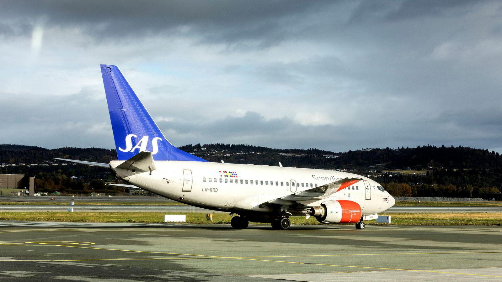 En kabinansatt ble tatt med promille på et SAS-fly som skulle fra Sola til København.