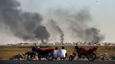 Tyrkia har innledet en militæroffensiv i Syria. Foto: AP / Emrah Gurel / NTB scanpix