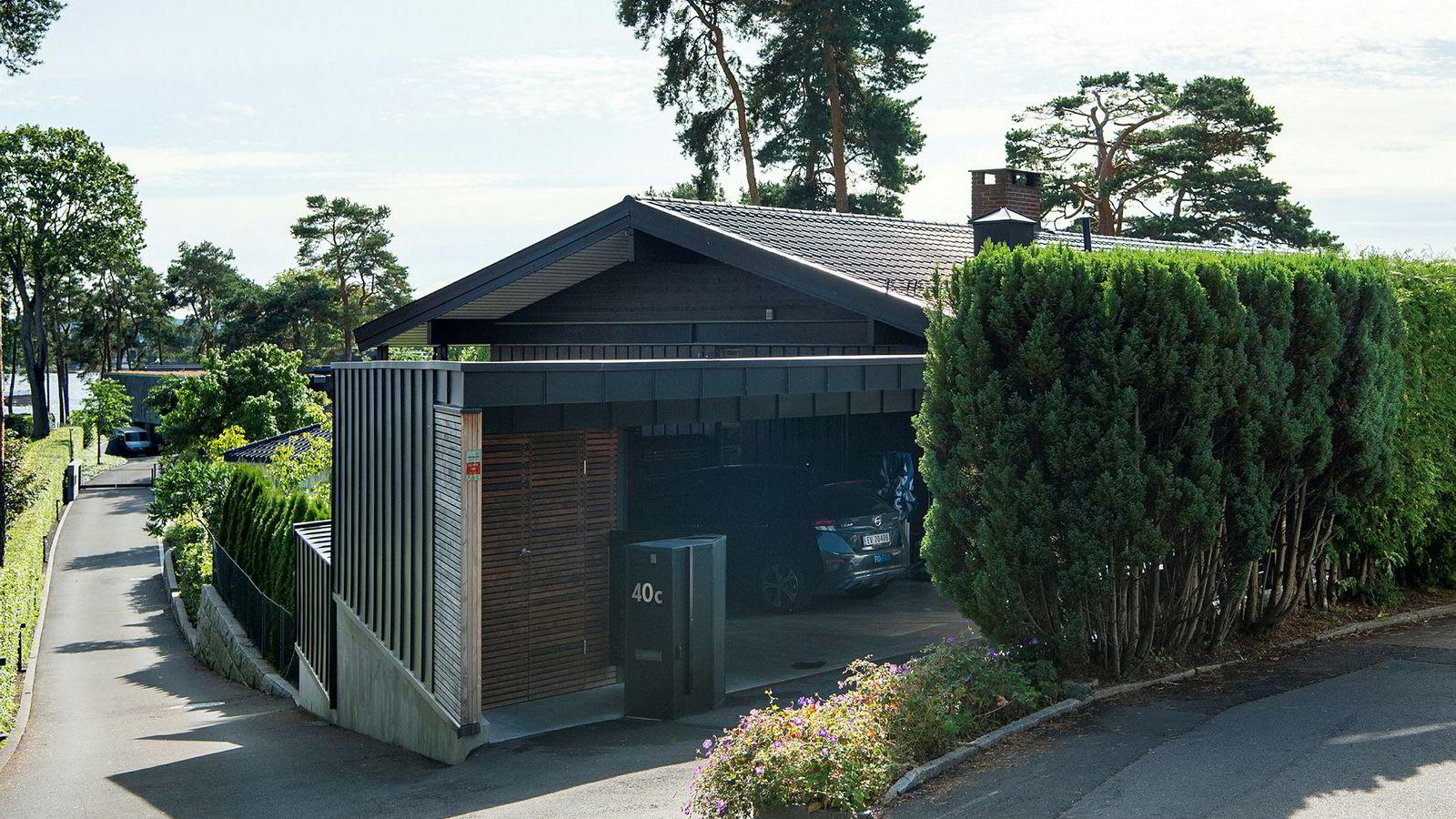 Eiendommen i P. T. Mallings vei på Bygdøy ble solgt for 36,5 millioner kroner.