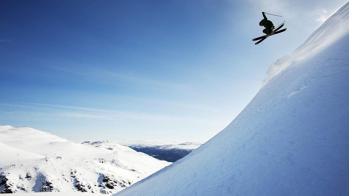Norge har et bredt spekter av alpinanlegg. Her fra Oppdal, som havner på 3. plass i kåringen.