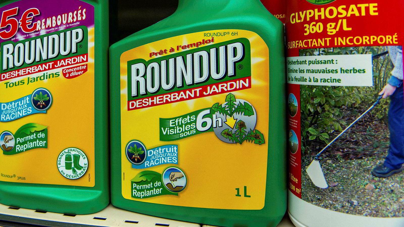 Nok en rettssak i USA fastslår at ugressmiddelet Roundup som produseres av Monsanto har forårsaket kreft.