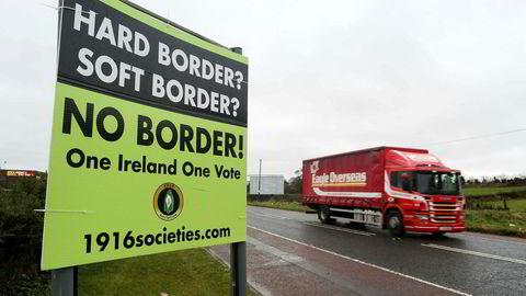 Grensen mot Nord-Irland har vært et problem i brexit-forhandlingene.