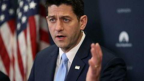 Paul Ryan er republikanernes flertallsleder i Representantenes hus.