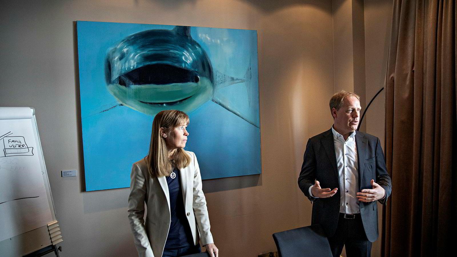 Administrerende direktør Øystein Bø (til høyre) i Formuesforvaltning og Tonje C. Johnsrud i Formuesforvaltning Advokatene konkurrerer med store firmaer som også er sultne på private advokatoppdrag – og prisene kan gå opp mot 6000 kroner pluss moms i timen.