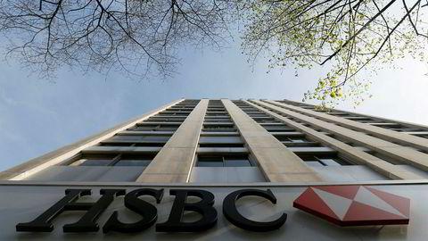 Britiske HSBC skal kutte flere tusen stillinger, ifølge Financial Times. Her er bankens franske hovedkontor i Paris avbildet.